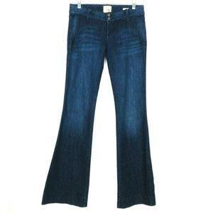 Dylan George Cinnamon Trouser Wide Leg Flare 28